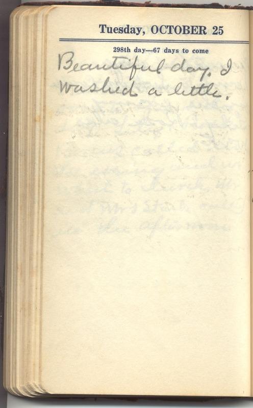 Roberta Hopkins' Diary 1927 (p. 304)