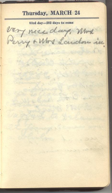 Roberta Hopkins' Diary 1927 (p. 89)