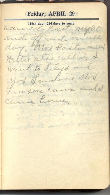Roberta Hopkins' Diary 1927 (p. 125)