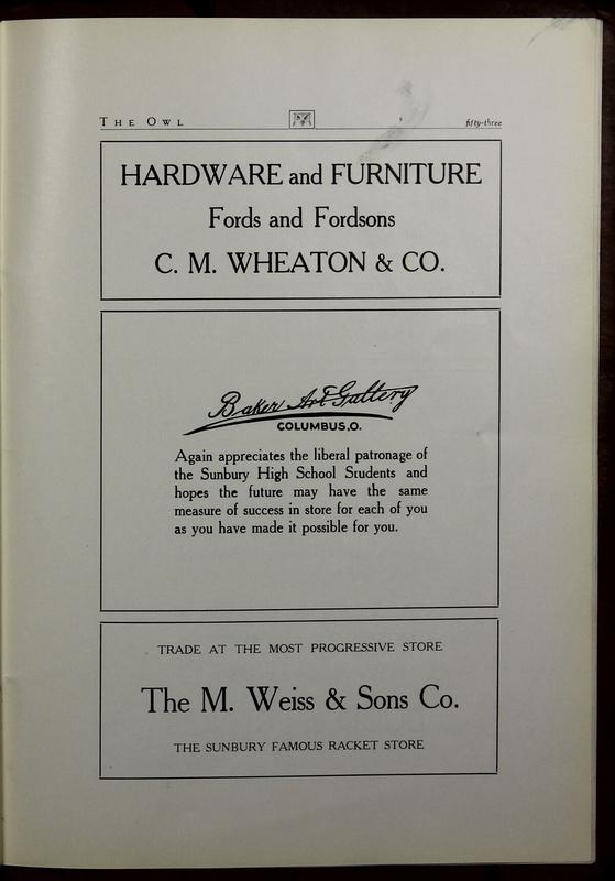 The Owl, Vol. II, 1922 (p.55)