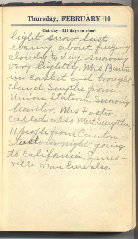 Roberta Hopkins' Diary 1927 (p. 47)