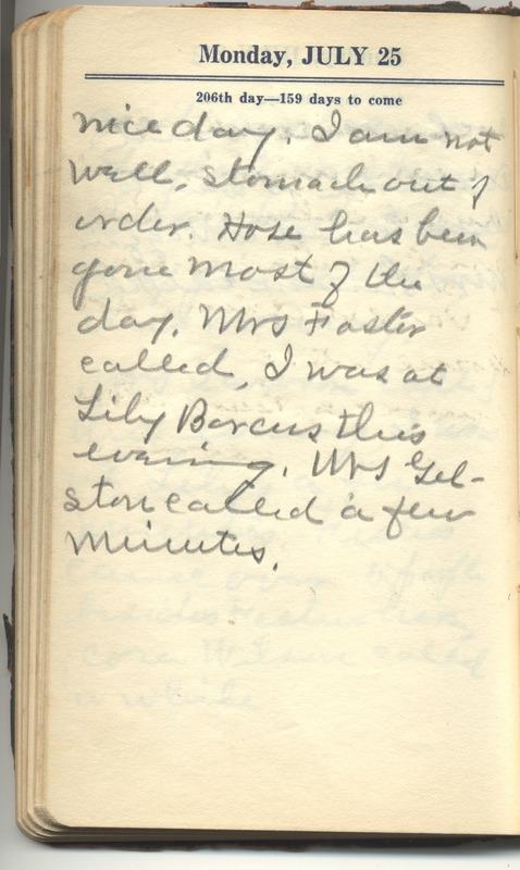 Roberta Hopkins' Diary 1927 (p. 212)