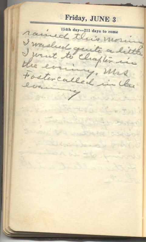 Roberta Hopkins' Diary 1927 (p. 160)
