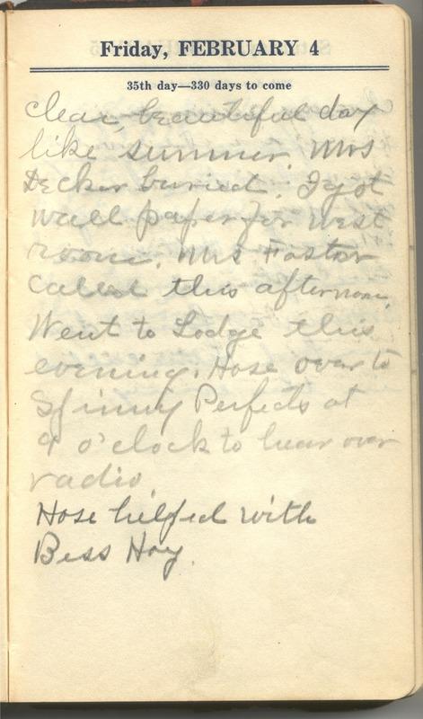 Roberta Hopkins' Diary 1927 (p. 41)