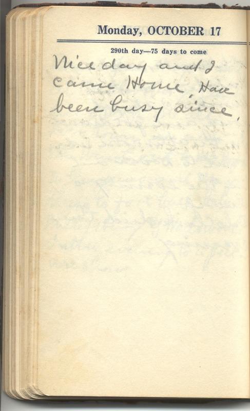 Roberta Hopkins' Diary 1927 (p. 296)