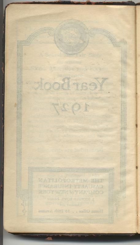 Roberta Hopkins' Diary 1927 (p. 6)