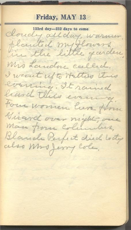 Roberta Hopkins' Diary 1927 (p. 139)