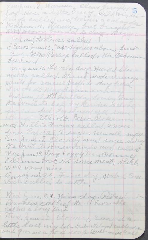 Roberta Hopkins' Journal 1941-1943 (p. 19)
