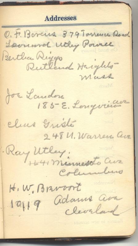 Roberta Hopkins' Diary 1927 (p. 379)
