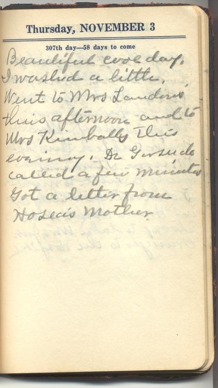 Roberta Hopkins' Diary 1927 (p. 313)