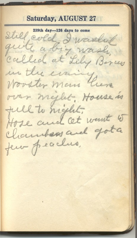 Roberta Hopkins' Diary 1927 (p. 249)