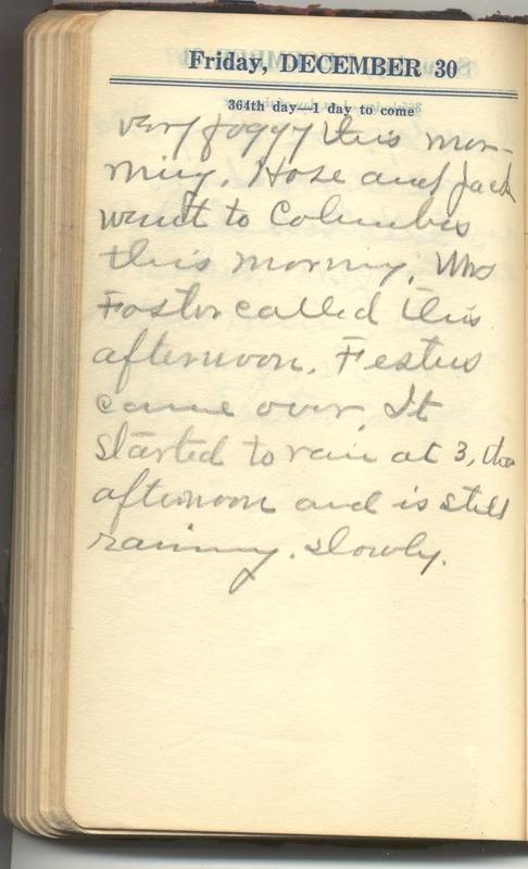 Roberta Hopkins' Diary 1927 (p. 370)
