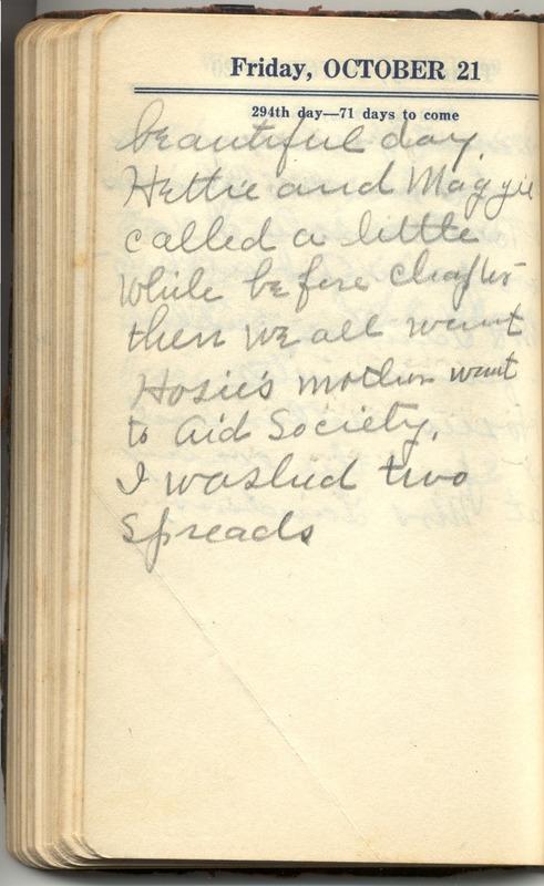 Roberta Hopkins' Diary 1927 (p. 300)