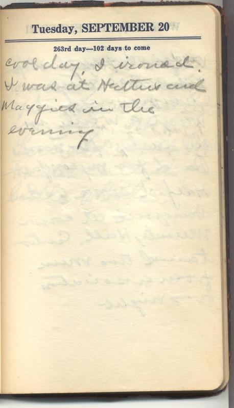 Roberta Hopkins' Diary 1927 (p. 269)