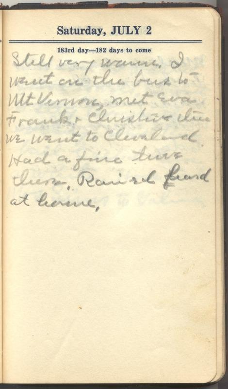 Roberta Hopkins' Diary 1927 (p. 189)
