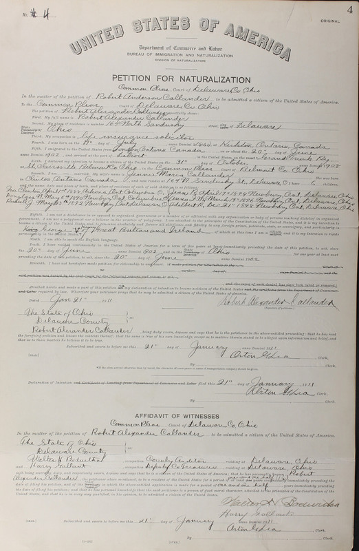 Naturalization Records Delaware County OH (p. 303)