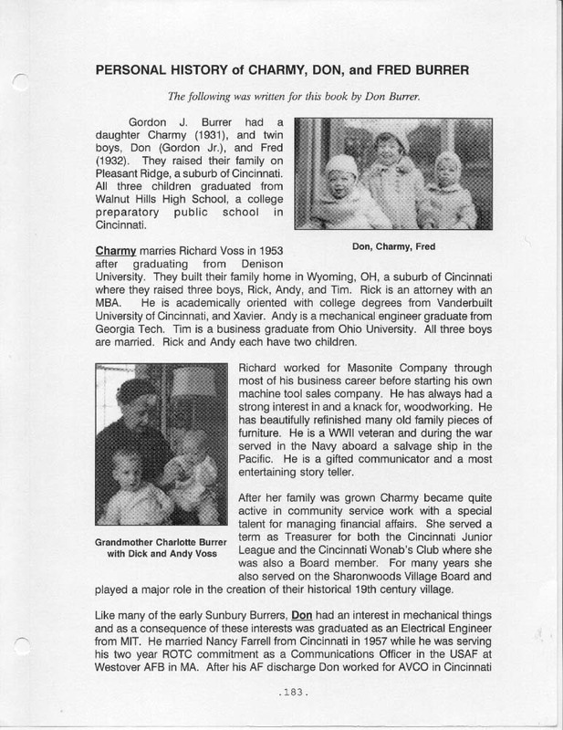 Flashback: A Story of Two Families (p. 196)