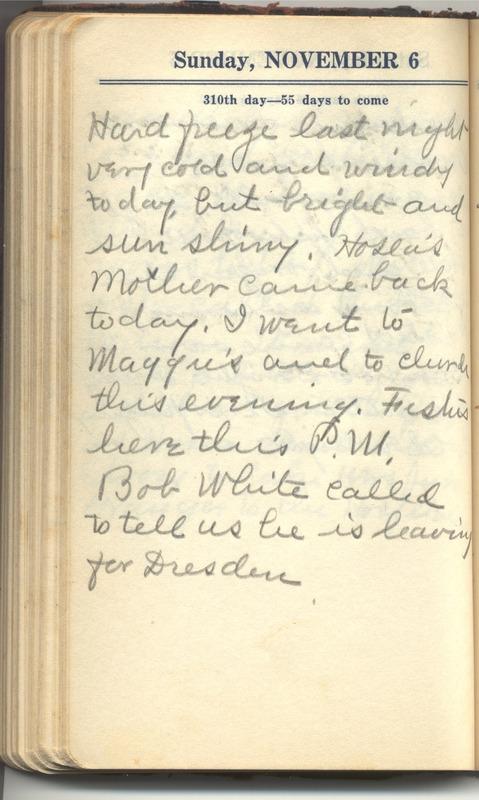 Roberta Hopkins' Diary 1927 (p. 316)