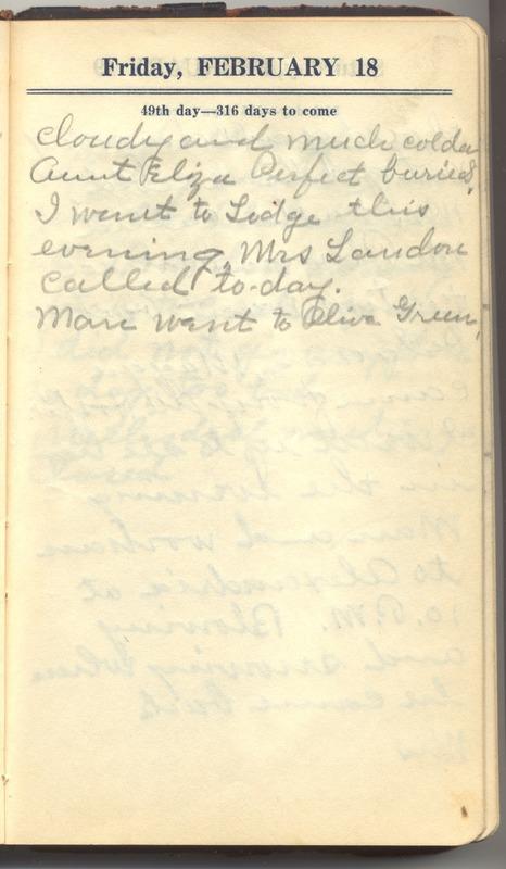 Roberta Hopkins' Diary 1927 (p. 55)