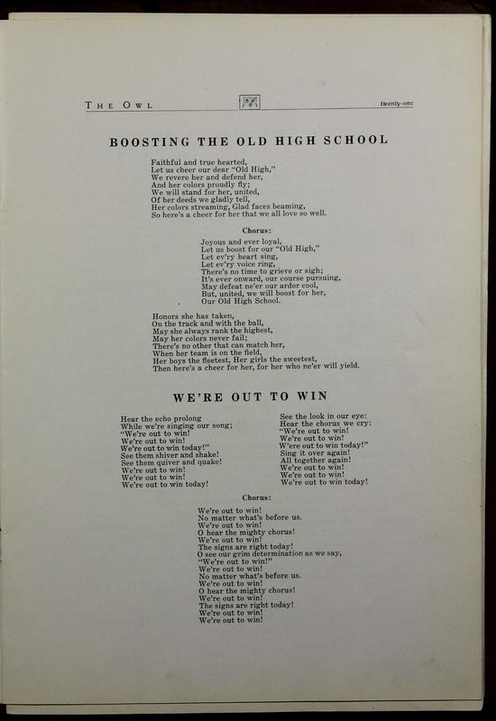 The Owl, Vol. II, 1922 (p.23)
