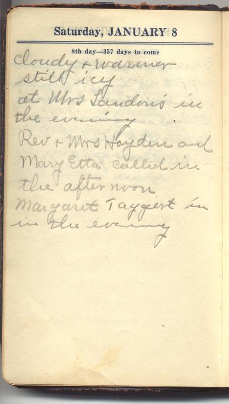 Roberta Hopkins' Diary 1927 (p. 14)