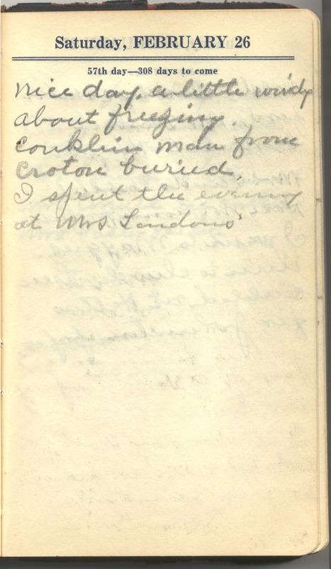 Roberta Hopkins' Diary 1927 (p. 63)