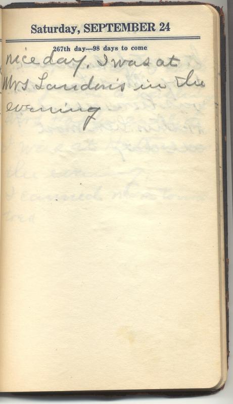 Roberta Hopkins' Diary 1927 (p. 273)