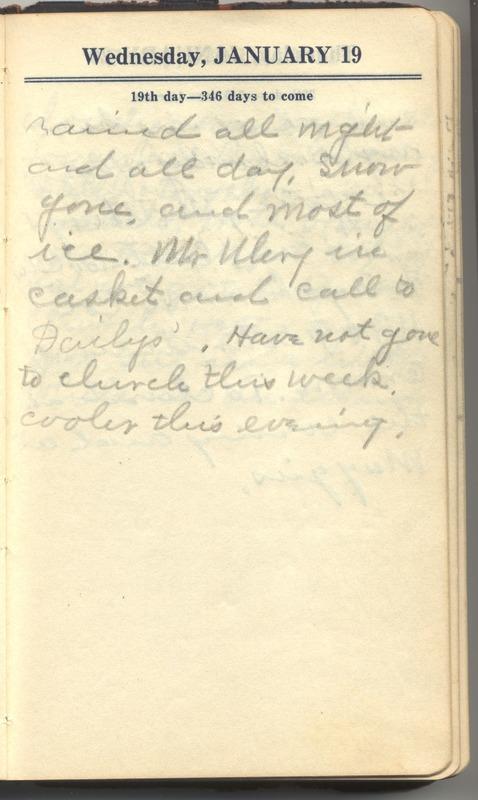 Roberta Hopkins' Diary 1927 (p. 25)