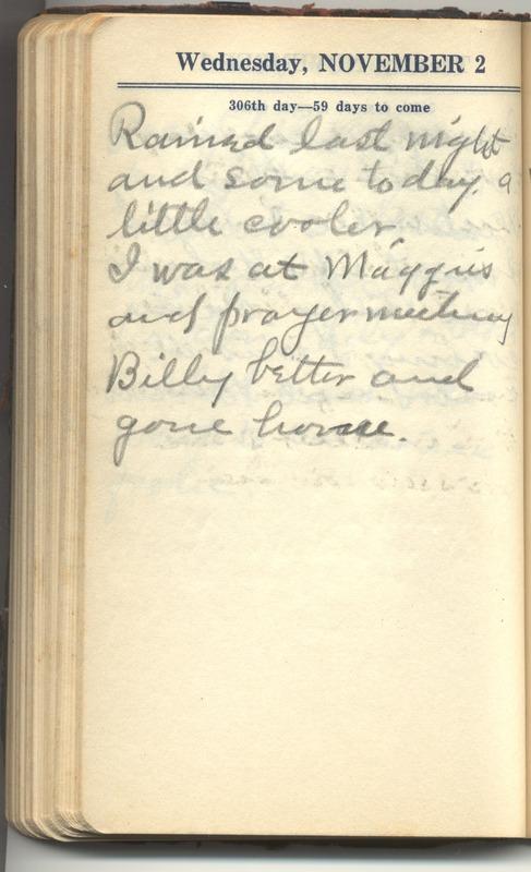Roberta Hopkins' Diary 1927 (p. 312)