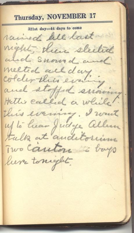 Roberta Hopkins' Diary 1927 (p. 327)