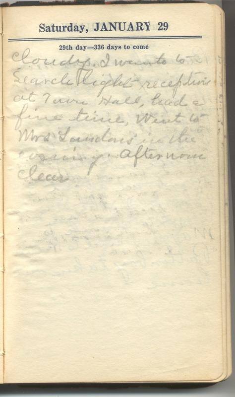 Roberta Hopkins' Diary 1927 (p. 35)