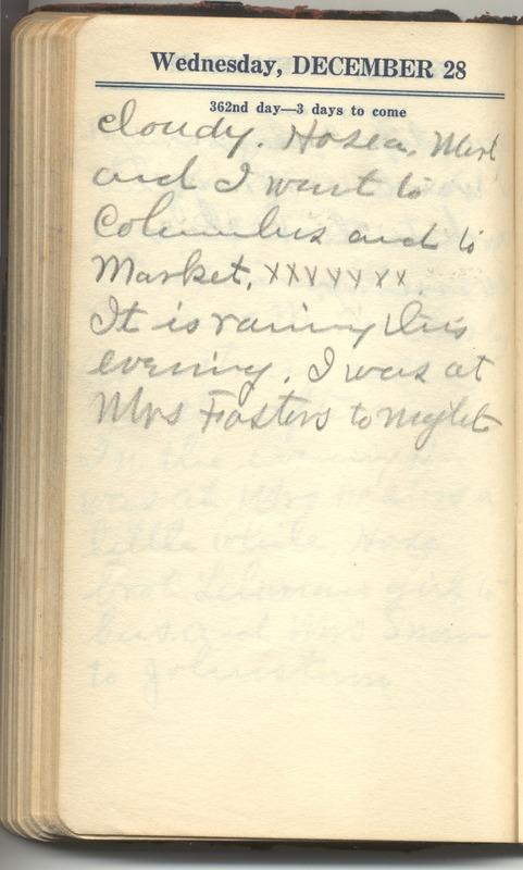 Roberta Hopkins' Diary 1927 (p. 368)