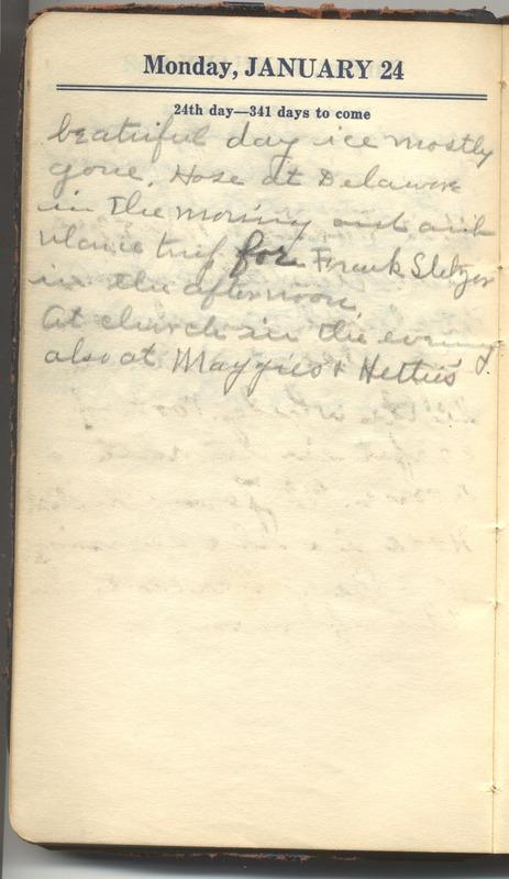 Roberta Hopkins' Diary 1927 (p. 30)