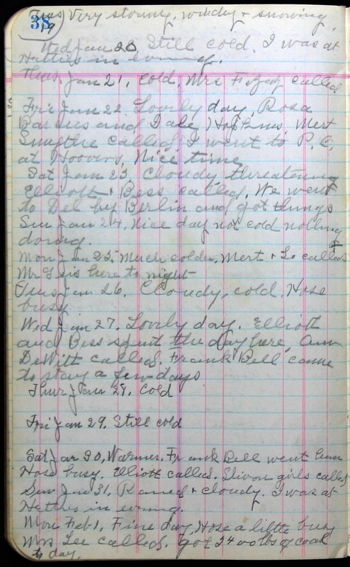 Roberta Hopkins' Journal 1941-1943 (p. 52)