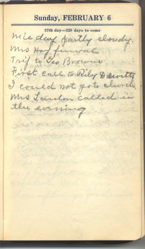 Roberta Hopkins' Diary 1927 (p. 43)