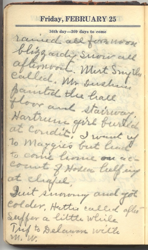 Roberta Hopkins' Diary 1927 (p. 62)