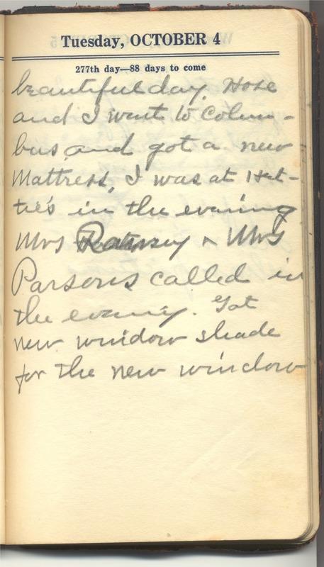 Roberta Hopkins' Diary 1927 (p. 283)