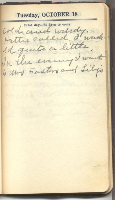 Roberta Hopkins' Diary 1927 (p. 297)