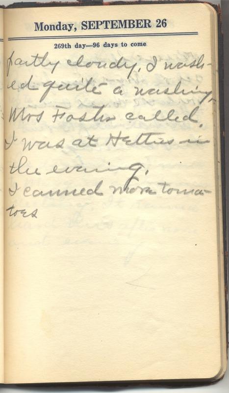 Roberta Hopkins' Diary 1927 (p. 275)