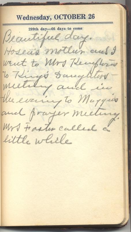 Roberta Hopkins' Diary 1927 (p. 305)