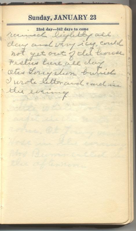 Roberta Hopkins' Diary 1927 (p. 29)