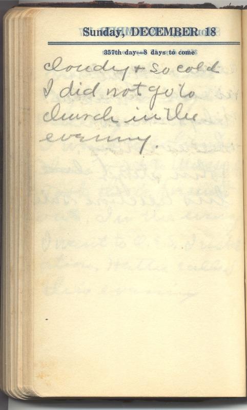 Roberta Hopkins' Diary 1927 (p. 358)