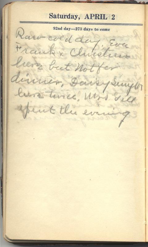 Roberta Hopkins' Diary 1927 (p. 98)