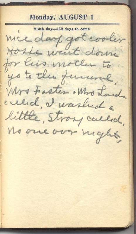 Roberta Hopkins' Diary 1927 (p. 219)