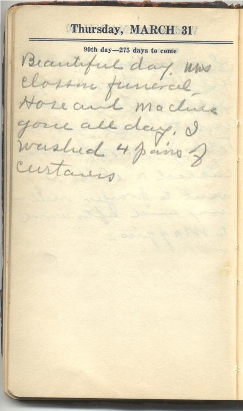 Roberta Hopkins' Diary 1927 (p. 96)