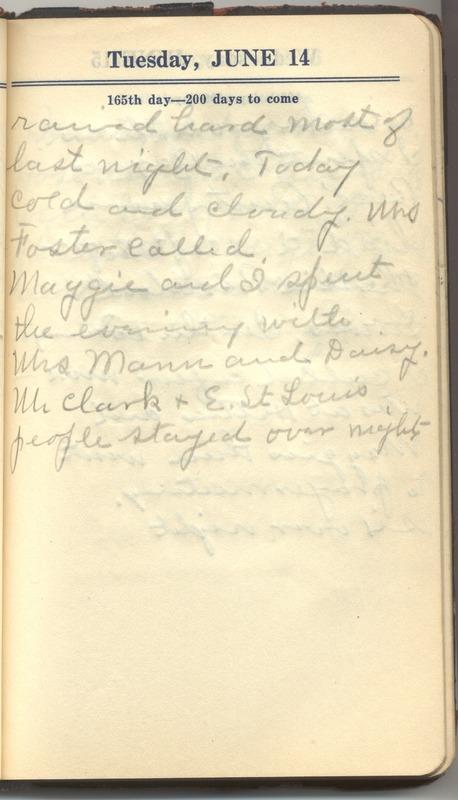 Roberta Hopkins' Diary 1927 (p. 171)