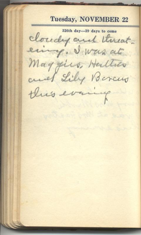 Roberta Hopkins' Diary 1927 (p. 332)