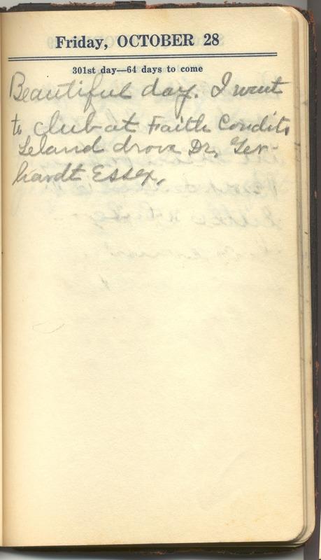 Roberta Hopkins' Diary 1927 (p. 307)