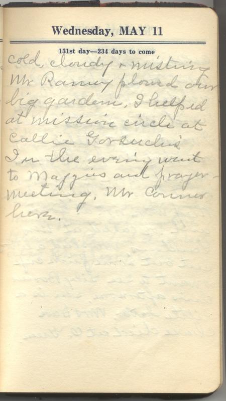 Roberta Hopkins' Diary 1927 (p. 137)