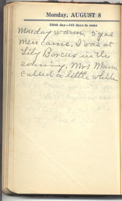 Roberta Hopkins' Diary 1927 (p. 226)